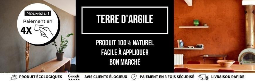 Enduit Terre Argile  Biologement