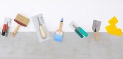 Top 10 des outils pour poser enduits et peinture