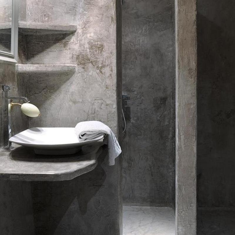 b ton cir dans une salle de bain conseils et exemples. Black Bedroom Furniture Sets. Home Design Ideas