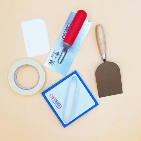 Kit outils béton ciré