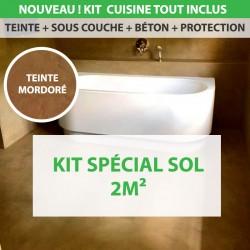 Kit Essentiel béton ciré Sol 2m² Mordoré