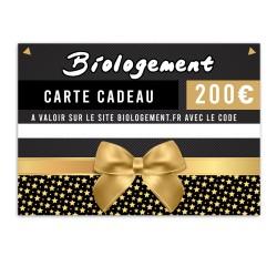 Carte cadeau Biologement 200€