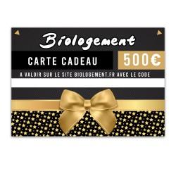 Carte cadeau Biologement 500€