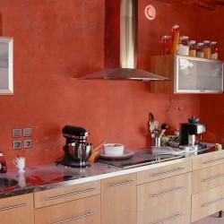 Kit béton ciré - rouge - pavot