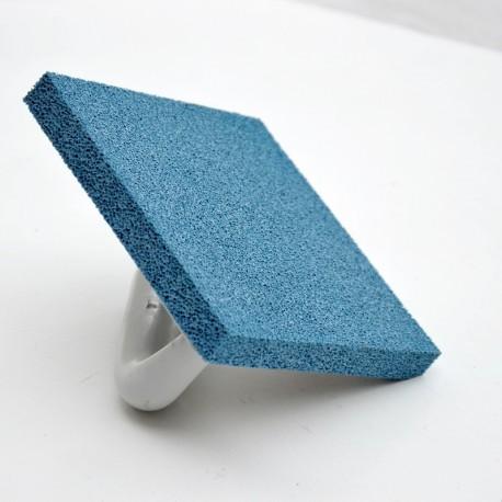 Taloche mousse bleu 140x140