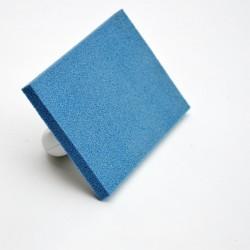 Taloche mousse bleu 215x135
