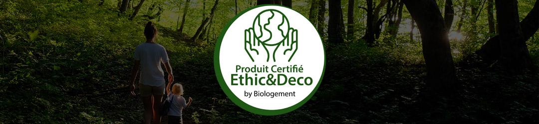 bandeau Ethic et deco label