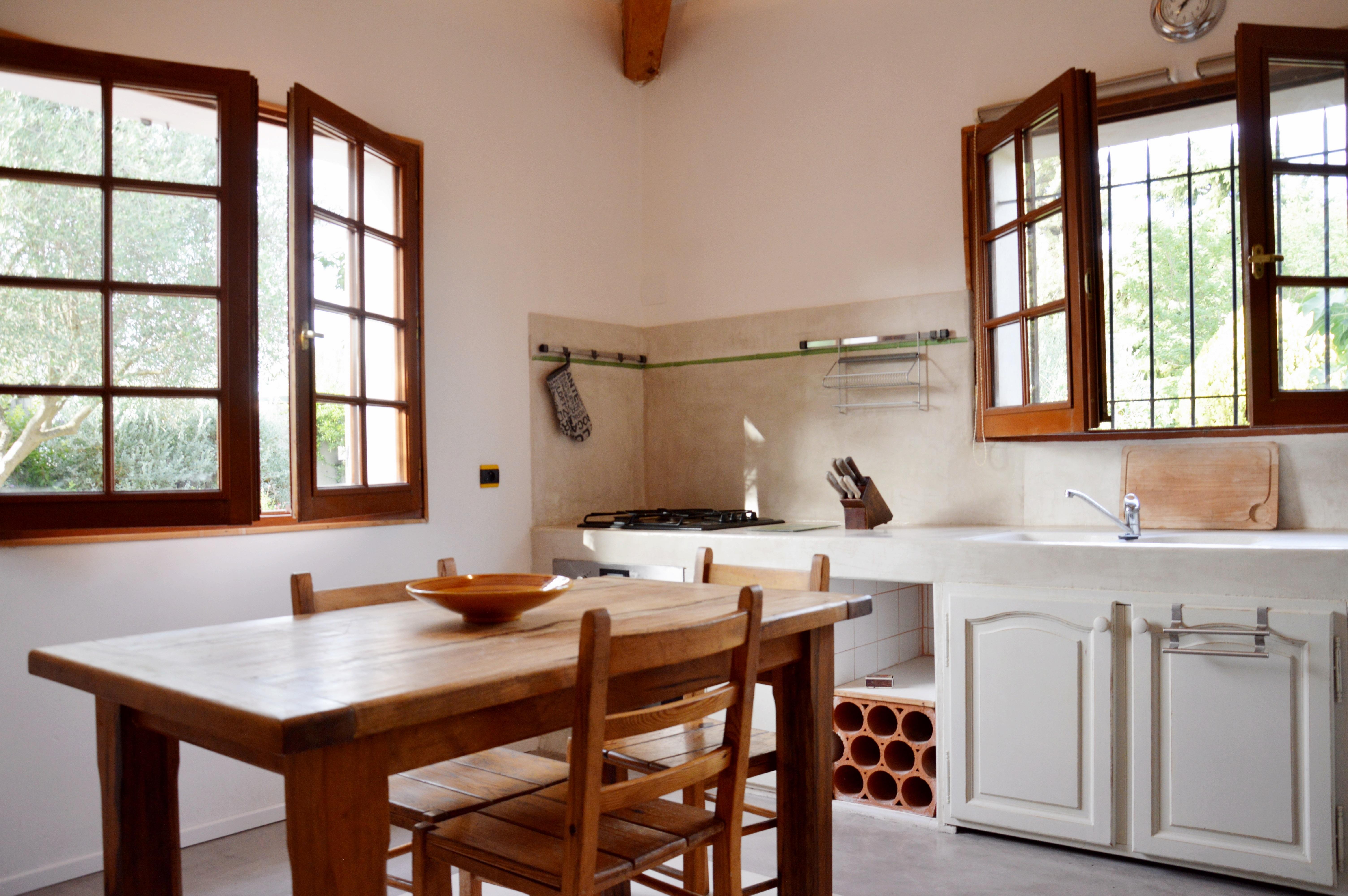Carrelage Effet Beton Cuisine béton ciré dans une cuisine : conseils et exemples de
