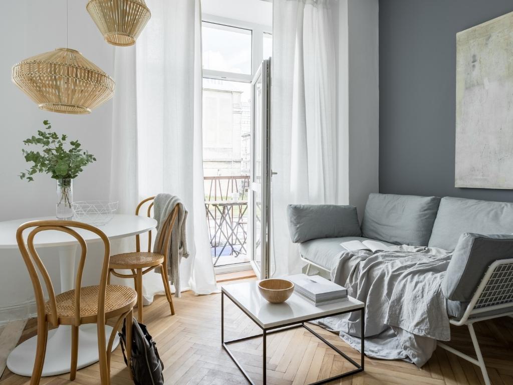 decoration pièce à vivre scandinave
