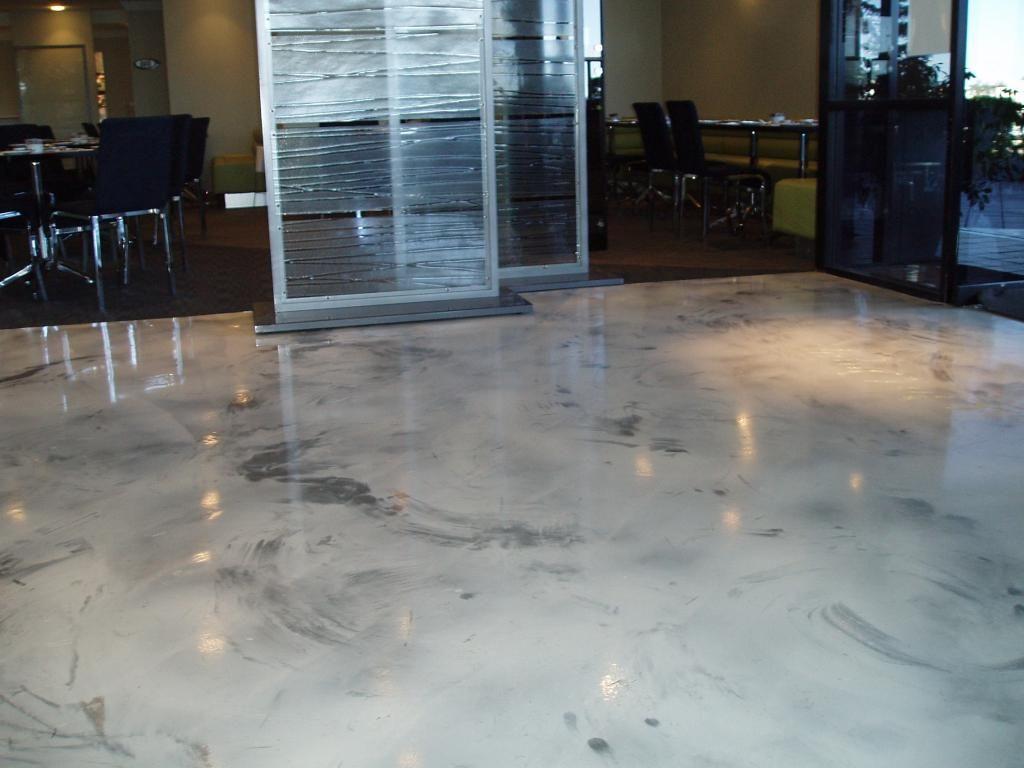 béton marbre exemple