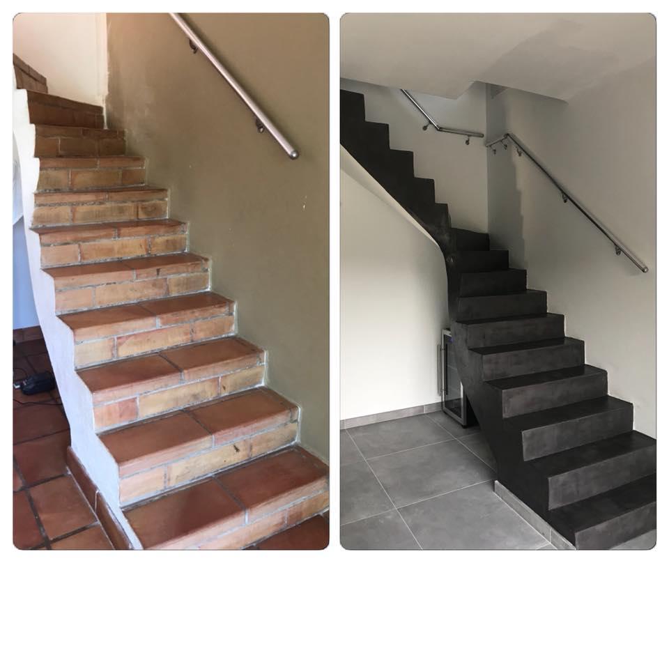 Escalier Interieur Beton Design comment réaliser un escalier en béton ciré facilement ? nos