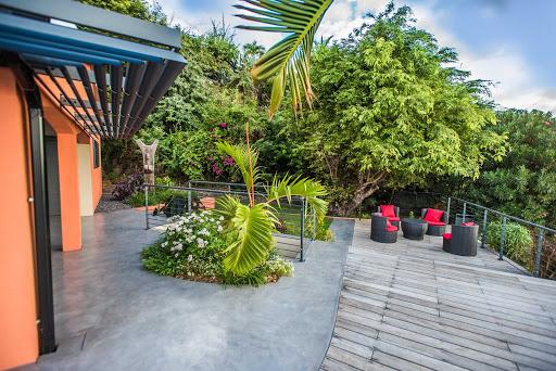 jardin exotique béton ciré