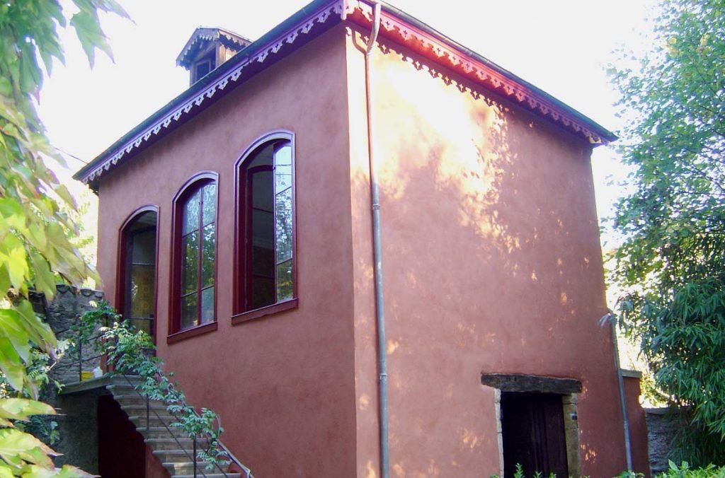 Enduit facade ancien
