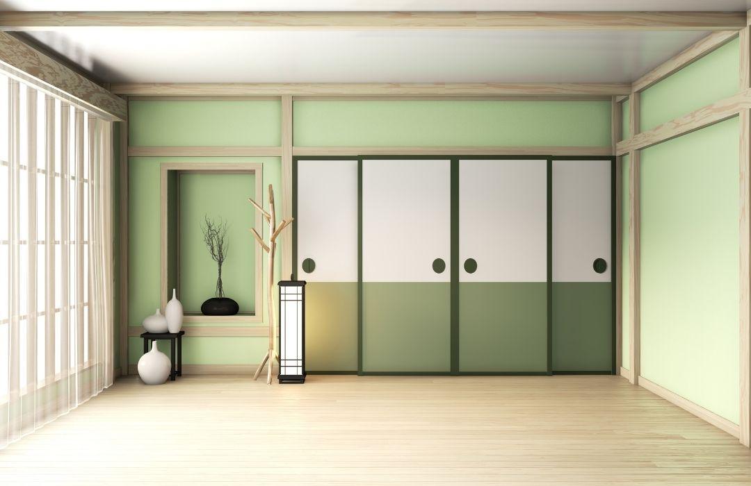 peinture vert pale