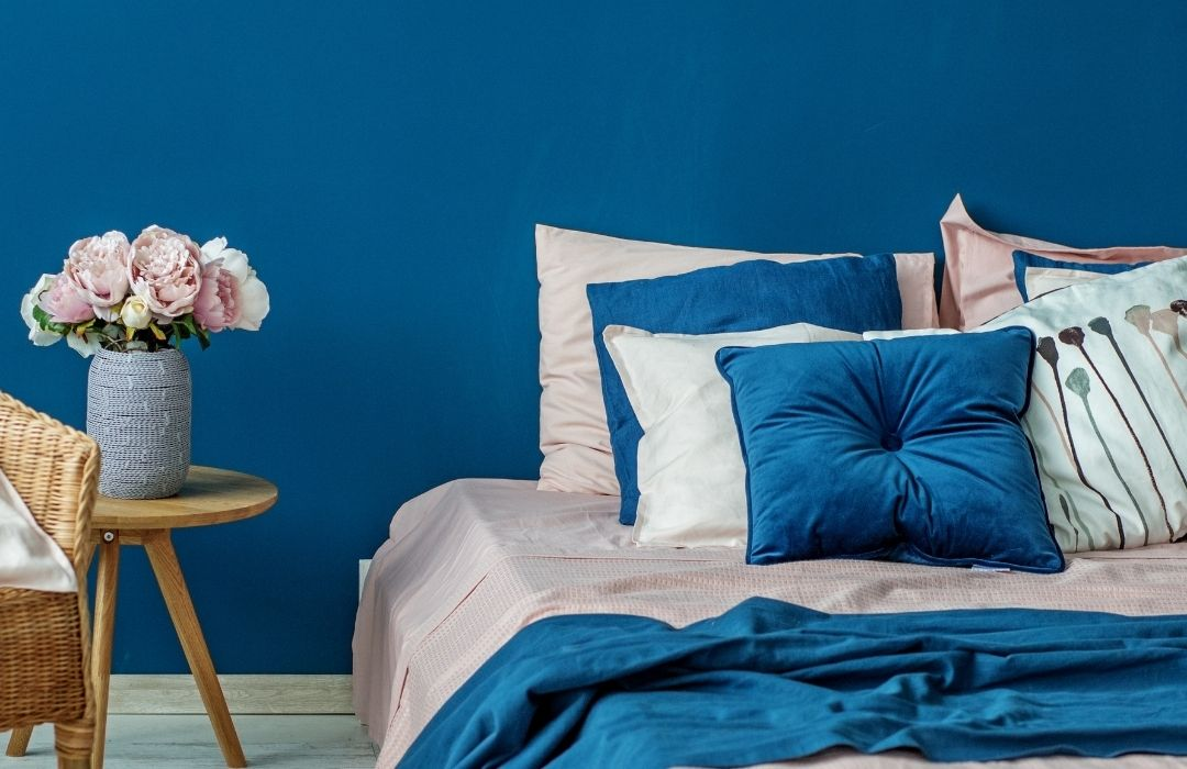 adulte chambre bleue