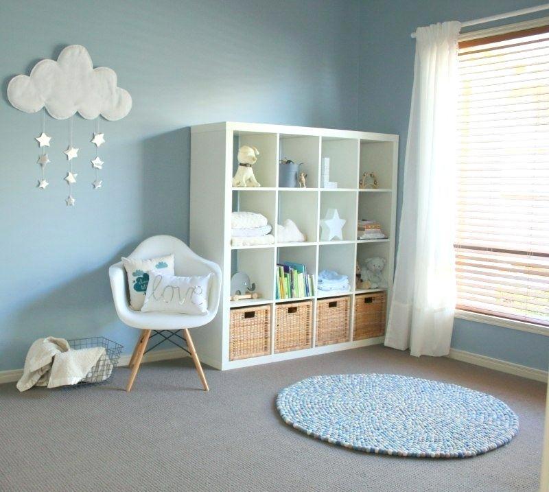 chambre bleu pastel bebe
