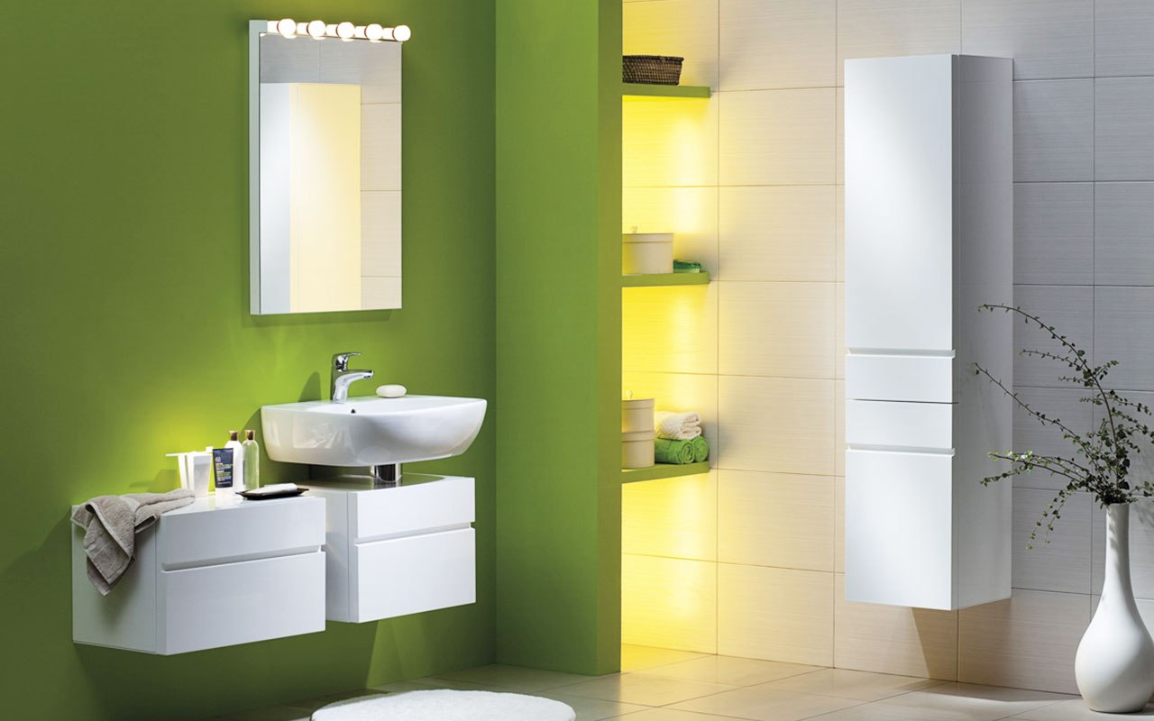 Quelle peinture choisir pour sa salle de bain conseils - Peinture anti humidite pour salle de bain ...