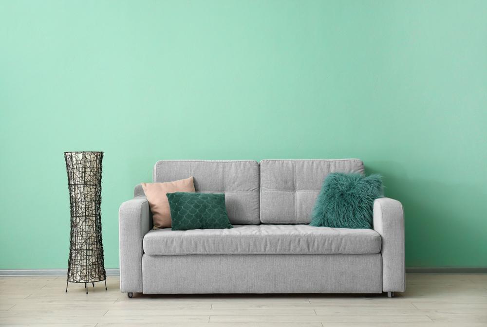 peinture naturelle avec un canapé